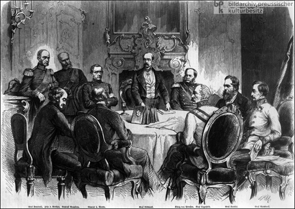 Negotiations at Nikolsburg (July 26, 1866)