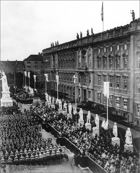 Entry of Victorious Prussian Troops into Berlin (September 21, 1866)