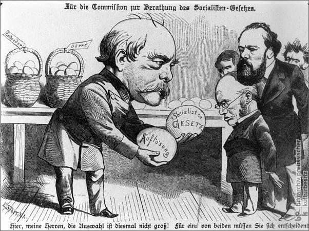 """""""Für die Kommission zur Beratung des Sozialistengesetzes"""" (1884)"""