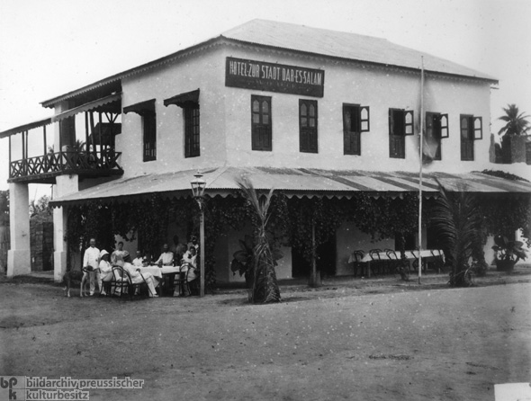 Hotel Dar es Salaam and German Colonialism (c. 1905)
