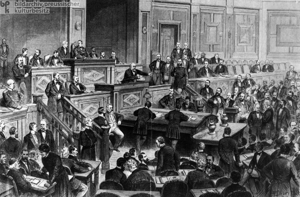 <I>A Session of the German Reichstag</i> (1874)