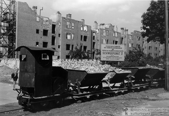 Housing Reconstruction Program in East Berlin (1948)
