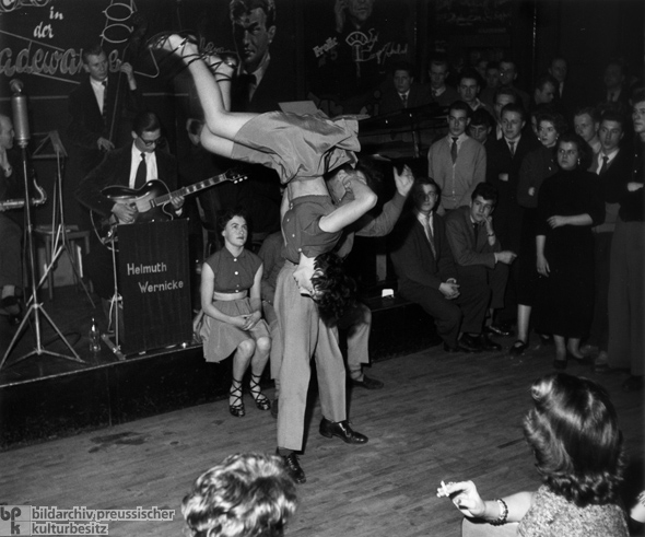 Rock 'n' Roll at a Berlin Dance Hall (1955)