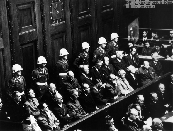 The Formal Opening of the Nuremberg Trial of the Major War Criminals (November 20, 1945)