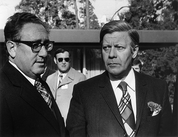 Henry Kissinger and Helmut Schmidt (March 8, 1975)