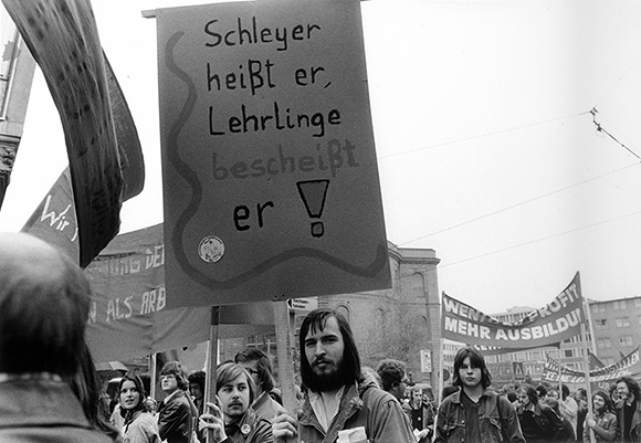 Demonstration by the Confederation of German Trade Unions (April 1, 1975)