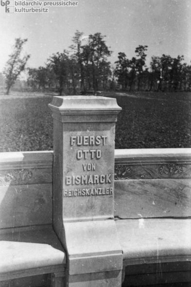 Pedestal of Bismarck Monument (1946)