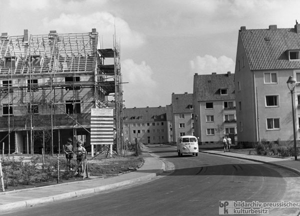 New Residential Buildings in Lübeck (September 1955)