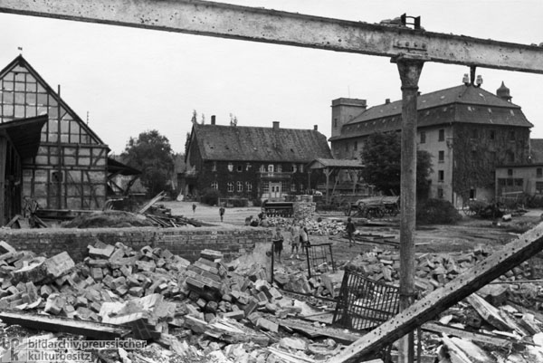 The Barn and Storehouse of the Hesserode Estate are Torn Down (May 1948)