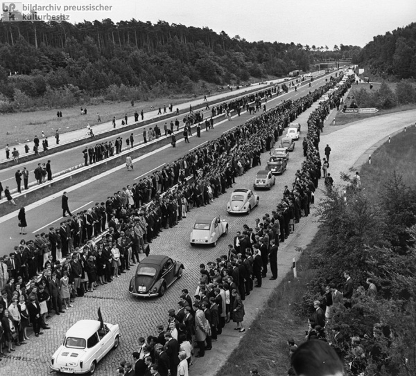 Benno Ohnesorg's Body is Transported from West Berlin to Hanover (June 8, 1967)