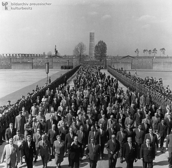 Official Opening of the Memorial at the Sachsenhausen Concentration Camp (April 22, 1961)