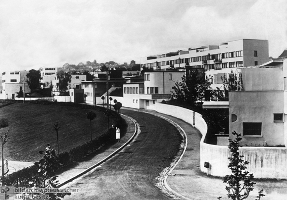 Weissenhof Housing Settlement in Stuttgart (built 1927)
