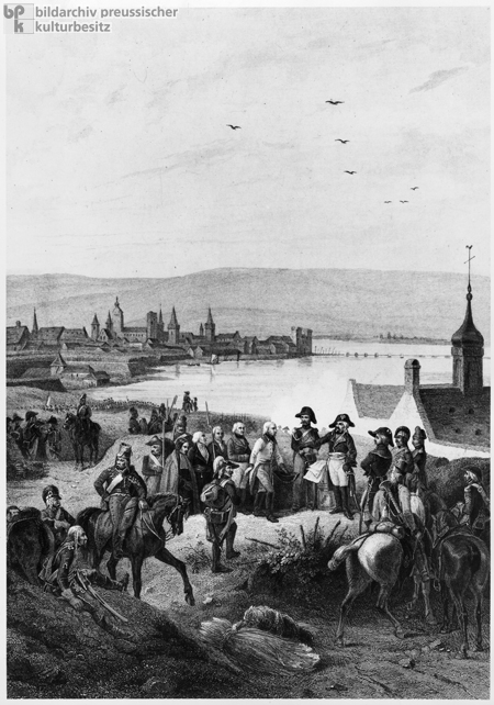 Capitulation Negotiations in Mainz in October 1792 (19th Century)
