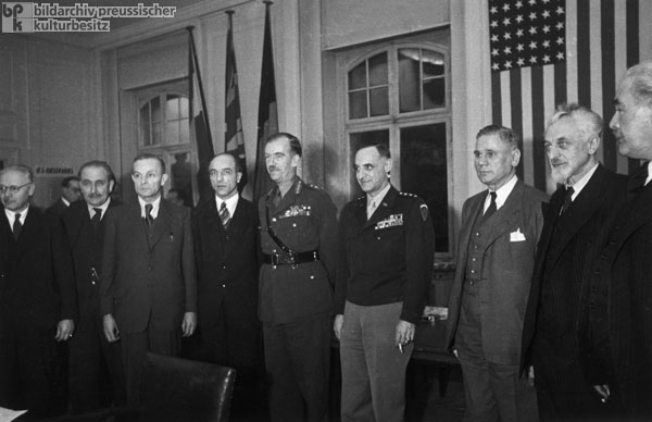 "Conference of Military Governors and State Leaders of the ""Bizone"" in Frankfurt am Main (January 7-8, 1948)"