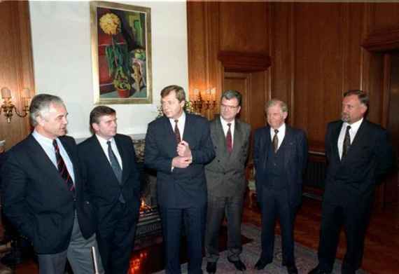 Meeting of the Minister Presidents of the New <i>Länder</i> (Februar 25, 1991)