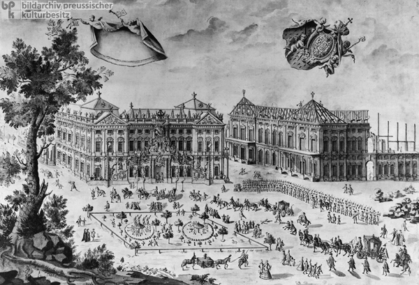 Construction of the Würzburg Residence of Prince-Bishop Karl von Schönborn (1731)