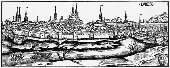 Lübeck around 1500 (1493)