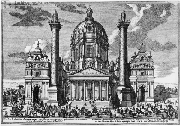 The Church of St. Charles in Vienna (1720)