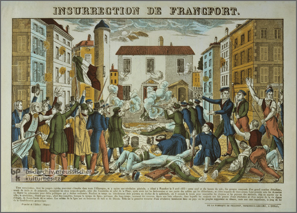 The Storming of Frankfurt's Main Police Station (April 3, 1833)