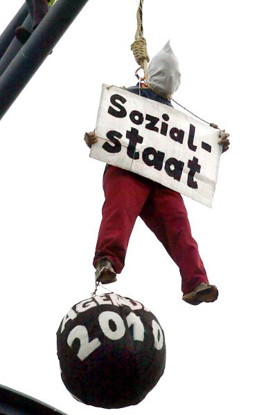 ATTAC Protest against Agenda 2010 (August 14, 2003)