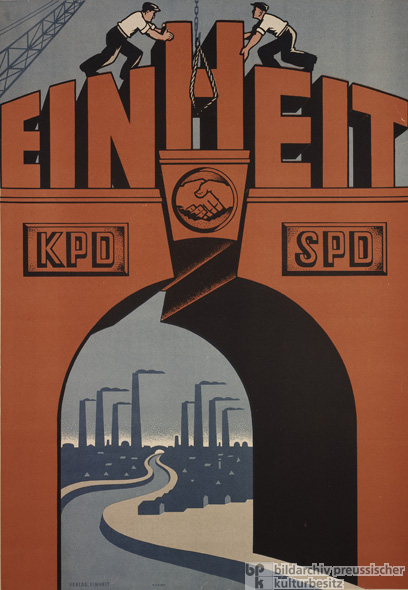 "The Merger of the Eastern SPD and the KPD: ""Unity"" (1946)"