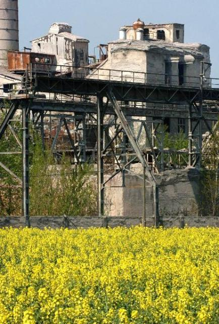 """Blooming"" Industrial Landscapes (April 28, 2004)"