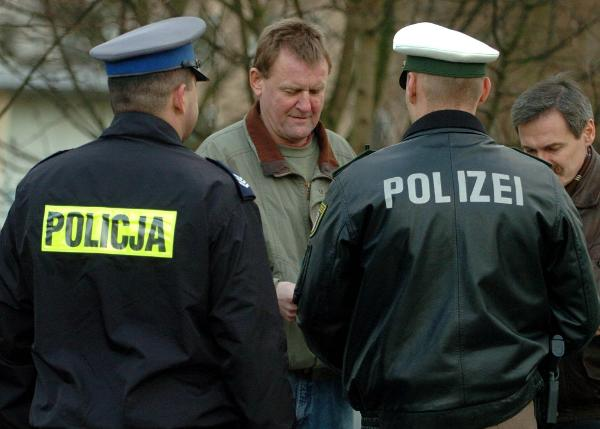 German-Polish Police Patrol (January 13, 2005)