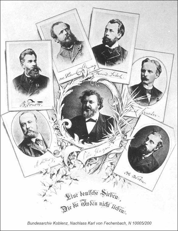 Seven Antisemitic Leaders (1880s)