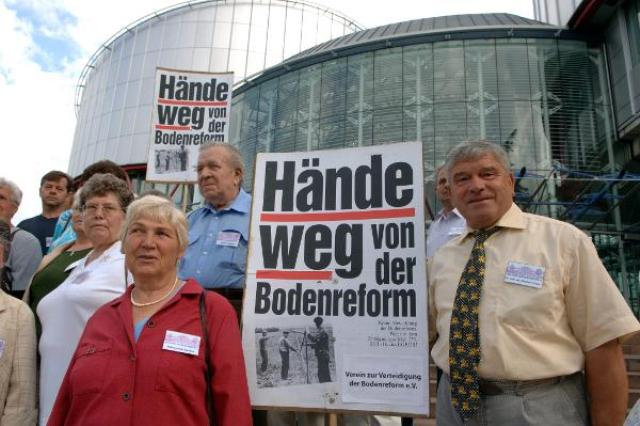 Expropriated Landowners Take their Claim to the European Court of Human Rights (June 30, 2005)