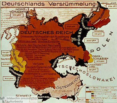 Deutschlands Verstümmelung