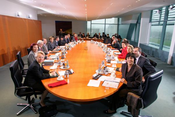 The New Cabinet under the Leadership of Chancellor Merkel (November 24, 2005)