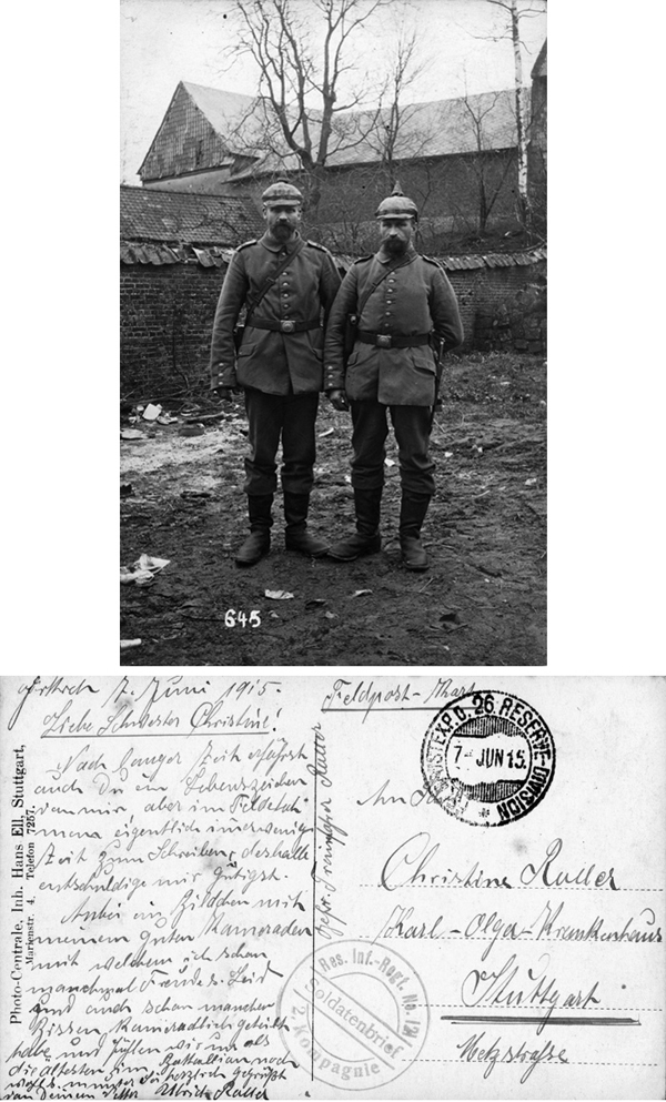 Two Soldiers (June 7, 1915)