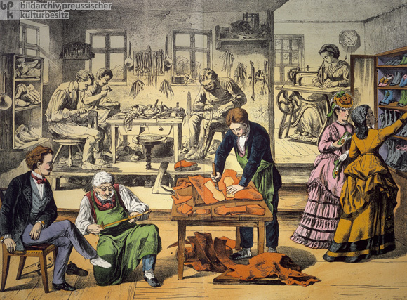 Cobbler's Workshop (c. 1850)