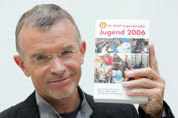 Klaus Hurrelmann, Autor der 15. Shell Jugendstudie (21. September 2006)