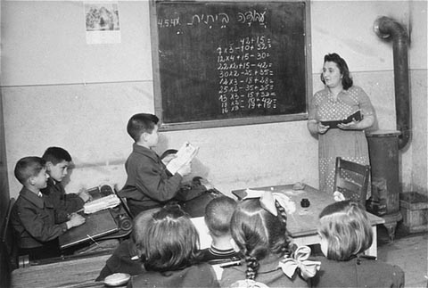 Math Lessons in the Camp (1945-48)