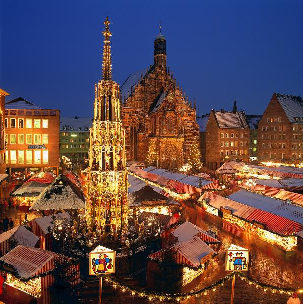 Christmas Market in Nuremberg (December 2006)