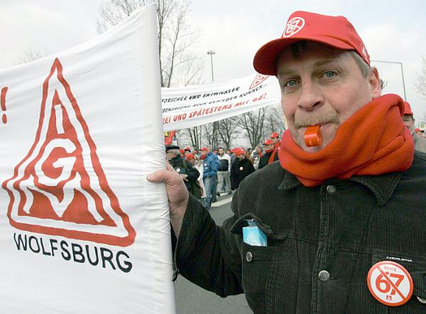 Protest against the Raising of the Retirement Age to 67 (January 31, 2007)