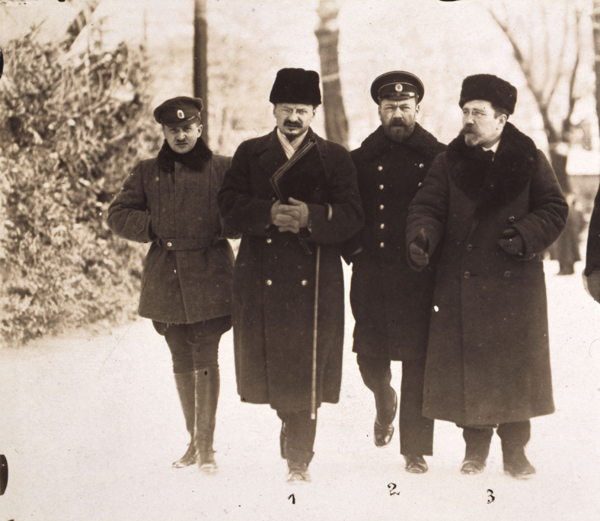 German-Russian Negotiations in Brest-Litovsk (December 1917)