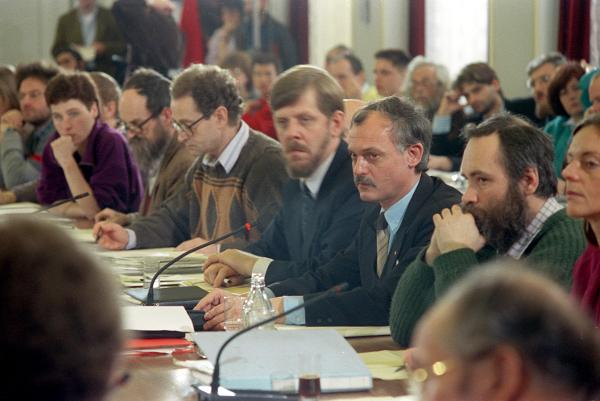 Meeting of the Central Round Table in East Berlin (January 22, 1990)