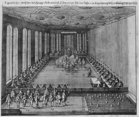 The Imperial Diet  [<I>Reichstag</i>] in Session on September 13, 1640 (17th Century)