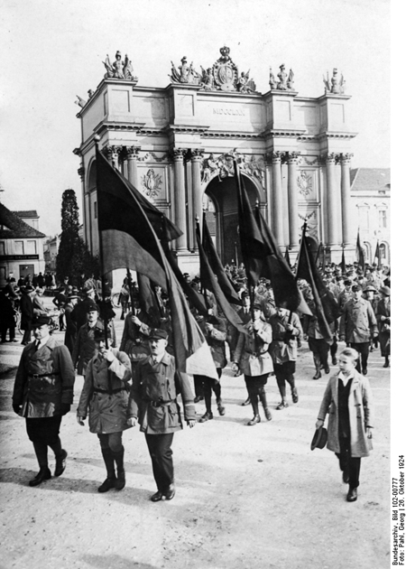 The <I>Reichsbanner Schwarz-Rot-Gold</i> at a Mass Rally in Potsdam (October 26, 1924)