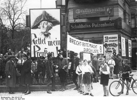 Election for the Prussian State Parliament [<I>Landtag</i>] in Berlin (April 24, 1932)