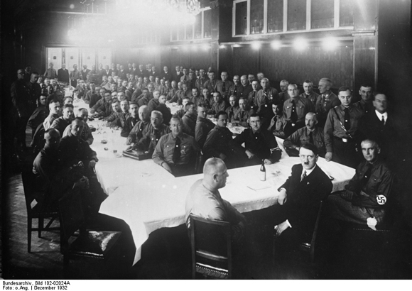 One of the Last Meetings of the NSDAP Reichstag Faction under Adolf Hitler (December 1932)