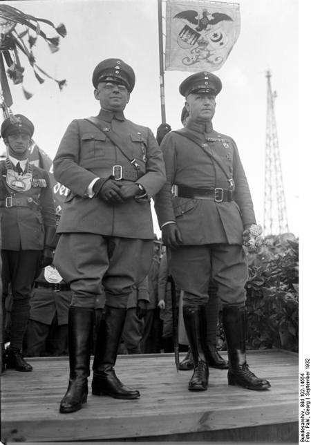 Franz Seldte and Theodor Düsterberg, Co-Founders of the <i>Stahlhelm</i> (September 1932)
