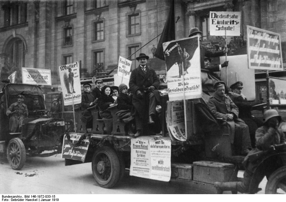 Social Democratic Electioneering in Berlin (January 1919)