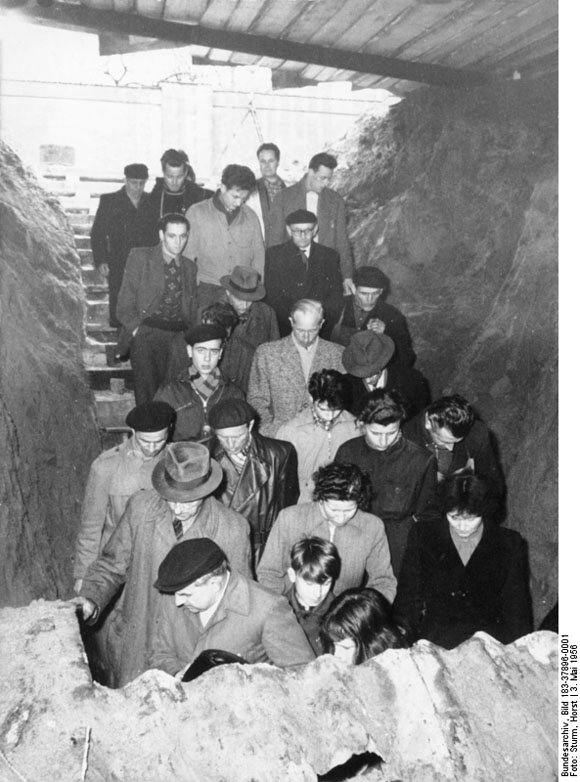 Public Viewing of an American Spy Tunnel in East Berlin (May 3, 1956)
