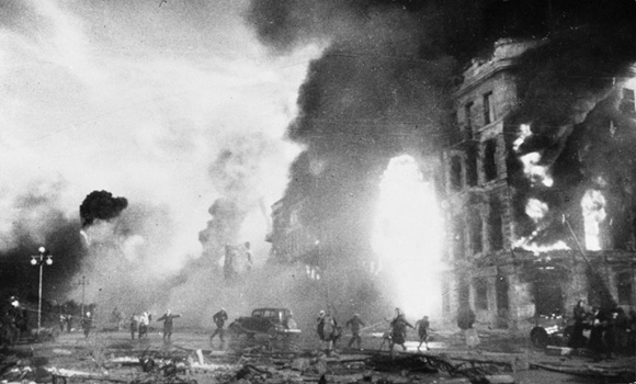 Burning Houses in Stalingrad (February 2, 1943)