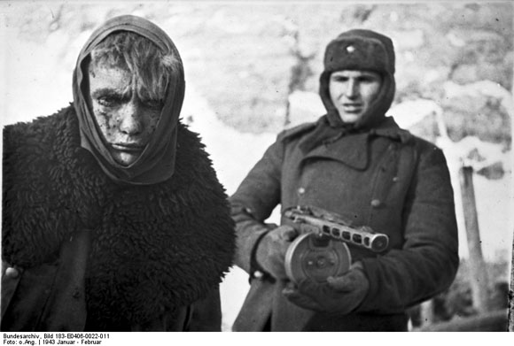 German Soldier after the Capitulation in Stalingrad (January/February 1943)