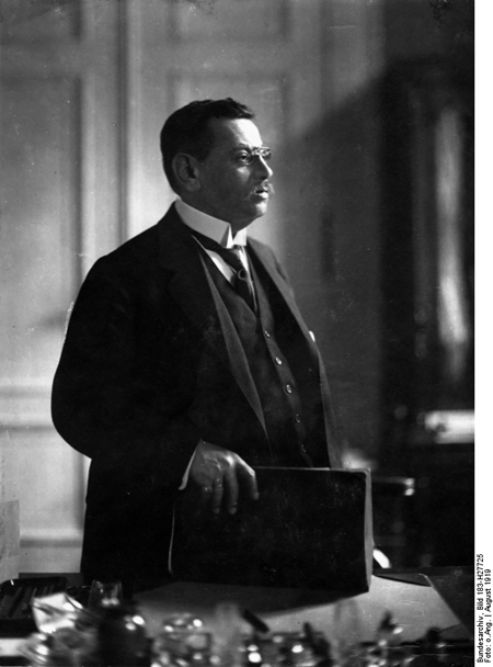 Reich Commissioner Hugo Preuß (August 1919)