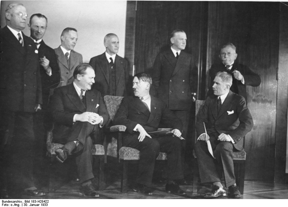 First Cabinet under Adolf Hitler (January 30, 1933)